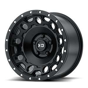 XD129 Holeshot 5 Satin Black
