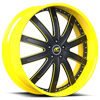 Santorino Yellow/Black 5 lug