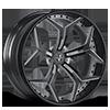 VCX Standard White with Black Trim 5 lug