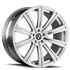5 LUG VM03 SILVER WITH WHITE FACE