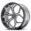 VCX Standard Gloss Black with White Accents 5 lug