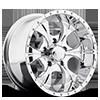 HE791 MAXX Chrome 5 lug