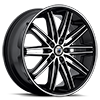 5 LUG ABL-10 MB-MACHINED BLACK W/BLACK LIP