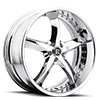 Swoops Chrome 5 lug