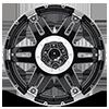 5 LUG XD797 SPY GLOSS BLACK MACHINED