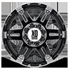 8 LUG XD797 SPY GLOSS BLACK MACHINED