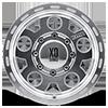 8 LUG XD122 ENDURO MACHINED WITH CLEAR COAT