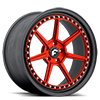 5 LUG F-SETTE RED CENTER, BLACK LIP