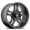 AX181 Artillery Cast Iron Black 5 lug