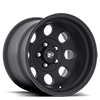 69 Series Matte Black 5 lug