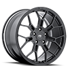 5 LUG MR130 TECHNOMESH SATIN BLACK
