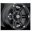 CP01 Matte Black 6 lug