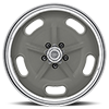 5 LUG VN470 SALT FLAT SPECIAL MAG GRAY W/ CENTER POLISHED BARREL