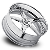 5 LUG TREMENDO CHROME