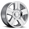 P147 Chrome 6 lug