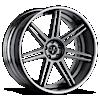 VKi concave Hyper Silver 5 lug
