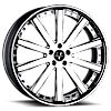 VTO concave Chrome 6 lug