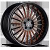 VSP Black w/ Orange Trim 5 lug