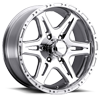 207-208 Badlands Polished 6 lug