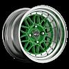 228 Green 4 lug