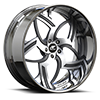 Imperio Satin and Chrome 5 lug