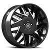 5 LUG FORZIANO BLACK WITH CARBON LIP
