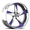 Milani 5 Satin and Purple 5 lug