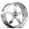 5 LUG MILANI 5 SATIN AND CHROME