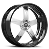 5 LUG MILANI 5 SATIN WITH BLACK LIP