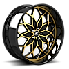 Motivo Gold and Black with Black Lip 5 lug