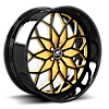 Motivo Black and Gold with Black Lip 5 lug
