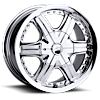 296-297 Flair Chrome 5 lug