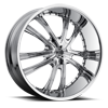 No21 Chrome 6 lug
