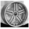 502 Silver 5 lug