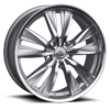 528 Silver 5 lug