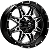 67R AK-8 Black with Machined Face 8 lug