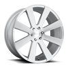 8-Ball - S213 Brushed / Silver Windows 6 lug