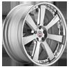 948RL Silver 5 lug