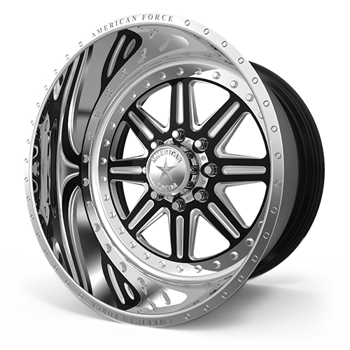 A17 Bond MP Black Machined 8 lug