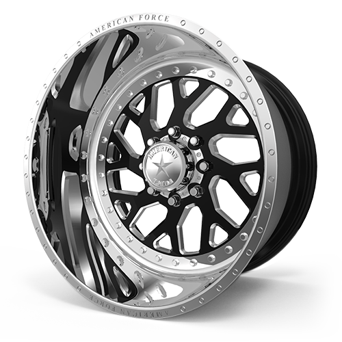 8 LUG A77 GAMBLE MP BLACK MACHINED