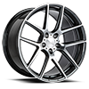 5 LUG AFF02 MICA GRAY WITH MACHINED