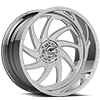 Argon Polished 5 lug