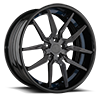 5 LUG AGL13 GLOSS GUNMETAL POLISHED WIT GUNMETAL LIP