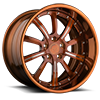 5 LUG AGL17 BRUSHED COGNAC WITH POLISHED COGNAC LIP
