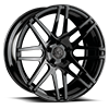 AGL44 Gloss Black 5 lug