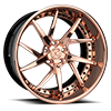 AGL52 Polish Rose Gold 5 lug