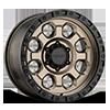 AX201 Matte Bronze with Black Lip 8 lug