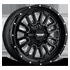 AX203 Gloss Black 6 lug