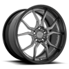 5 LUG ASCARI CANDY DDT W/ GLOSS BLACK LIP