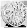 5 LUG AZA-505 CHROME